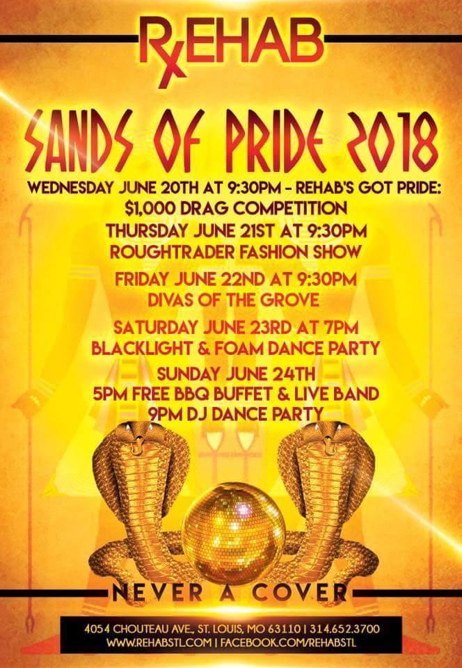 Rehab Pride Week Events