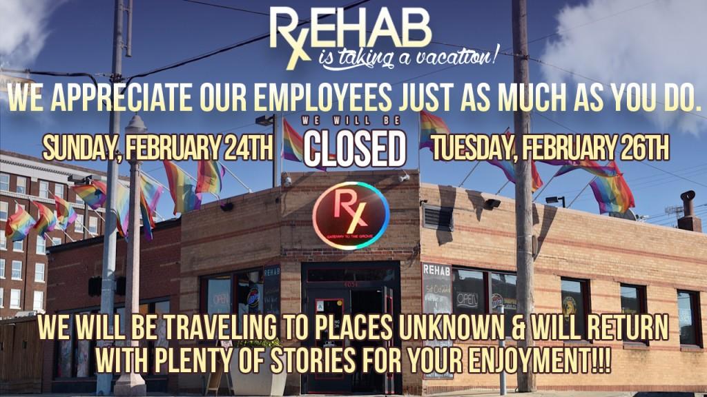 Closed February 24th - February 27th