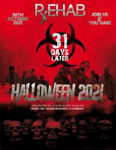 28 Days Later - October 30th