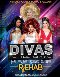 Divas of the Grove each and every Saturday