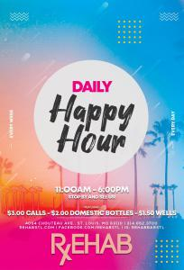 Daily Happy Hour