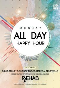 Monday Happy Hour