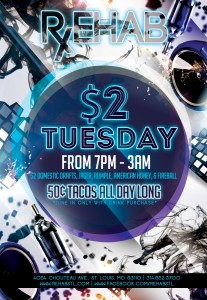 New Tuesday Flyer