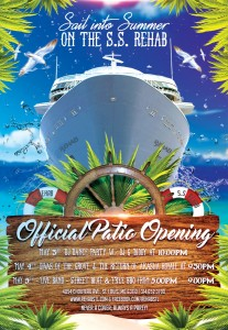 Offical Patio Opening