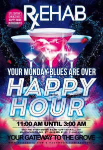Monday Happy Hour - All Day
